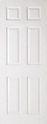 6 Panel Textured Moulded Internal Door